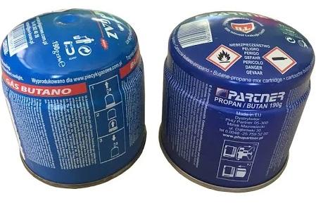 GPL in cartucce da 190 a 600 grammi
