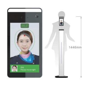 Pannello riconoscimento facciale e lettura temperatura - Dispositivi e prodotti anti-Covid