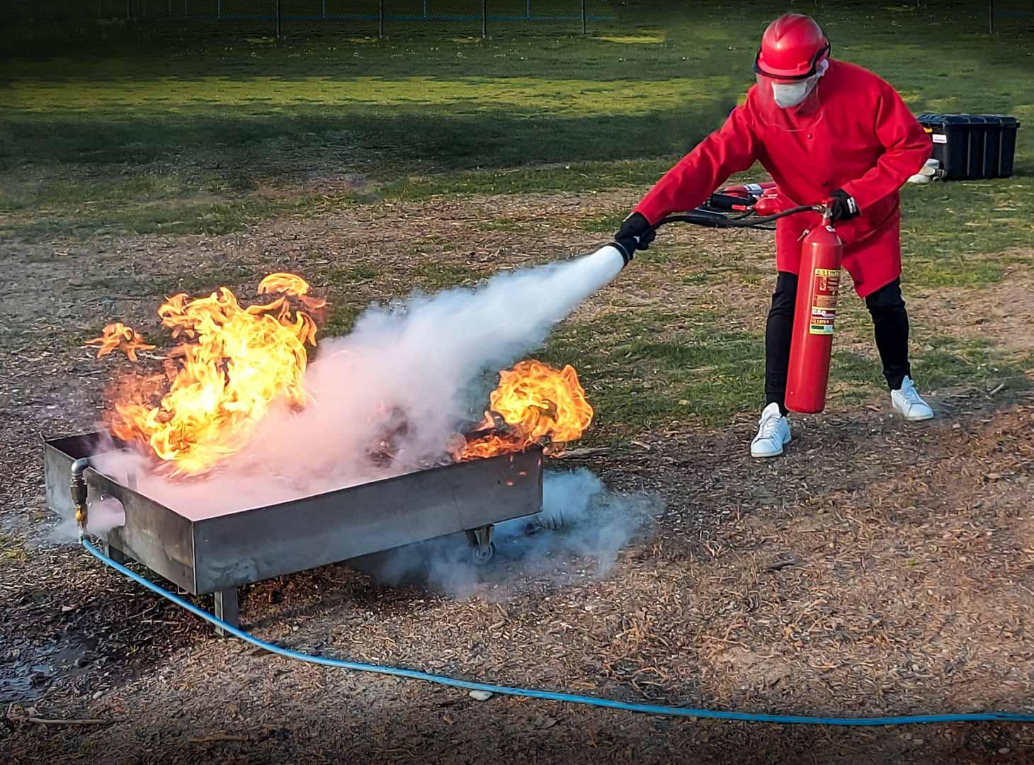 Kit noleggio attrezzatura antincendio