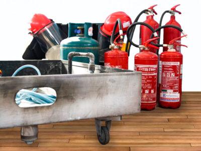 Kit noleggio attrezzatura antincendio - vasca grande