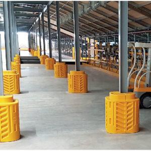 A-Safe - protezione pilastri